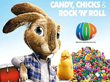 Easter fun with Hop - the movie