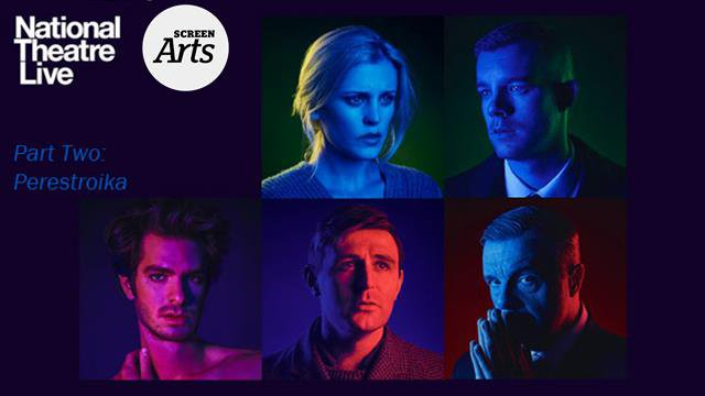 NT: Angels in America – Part Two (15) poster