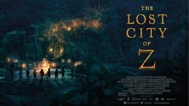 The Lost City of Z (15) poster
