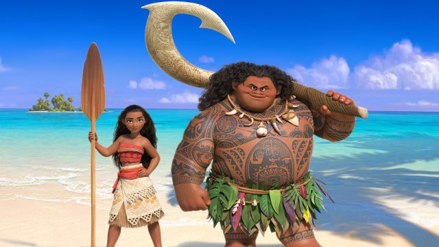 SMP: Moana (PG) poster