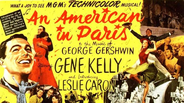 An American in Paris (U) poster