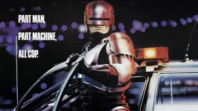 Robocop (18) poster