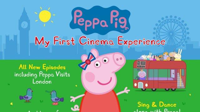 Peppa Pig: My First Cinema Experience (U) poster