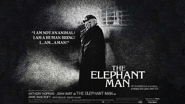 The Elephant Man (PG) poster