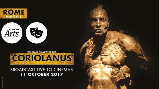 RSC: Coriolanus (12A) poster