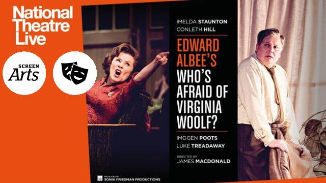 NT: Who's Afraid of Virginia Woolf (12A) poster
