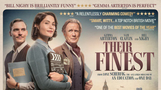 Their Finest (12A) poster