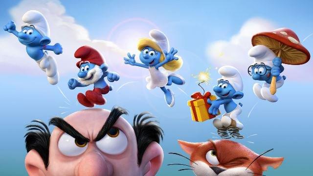 SMP: Smurfs – The Lost Village (U) poster