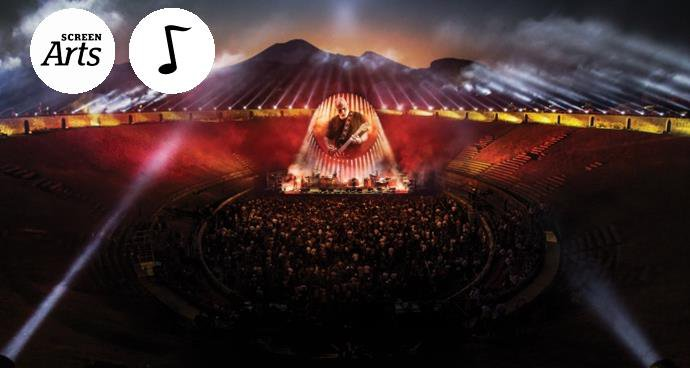 David Gilmour: Live at Pompeii (12A) poster