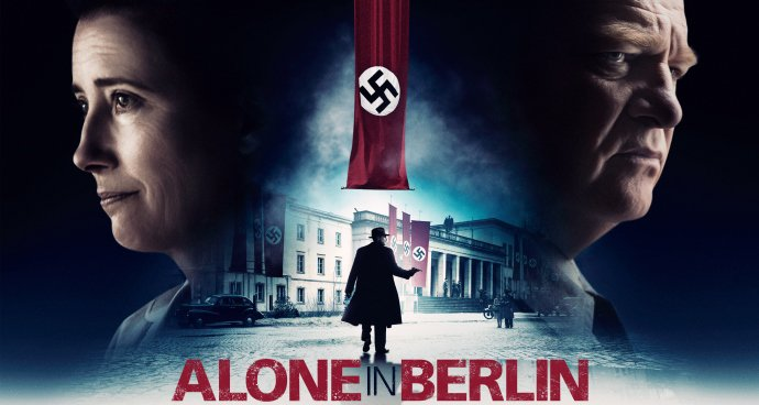 Alone in Berlin (12A) poster