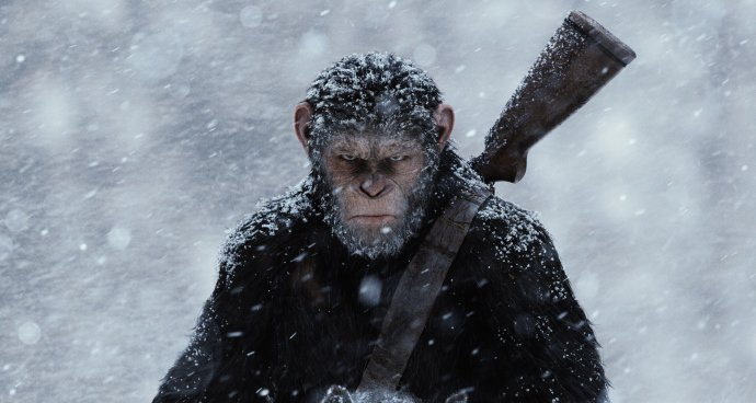SS: War for the Planet of the Apes (12A) poster
