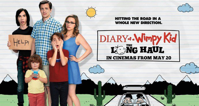 SMP: Diary of a Wimpy Kid – The Long Haul (U) poster