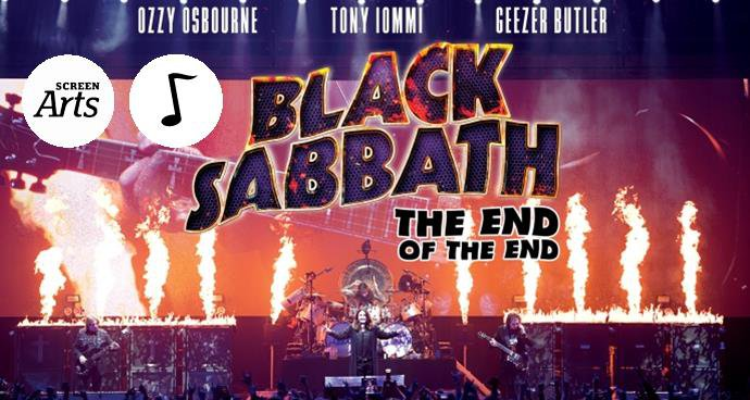 Black Sabbath: The End of the End (15 tbc) poster