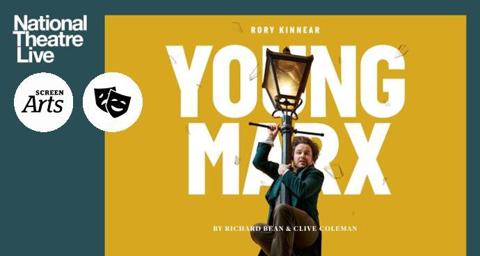 NT: Young Marx (12A) poster