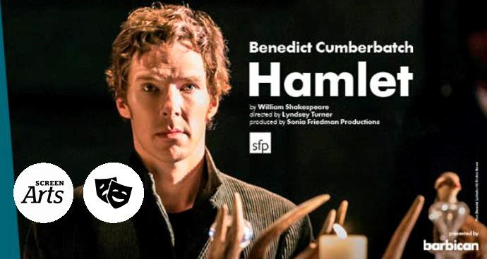 NT: Hamlet (12A) poster