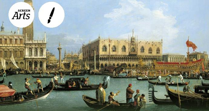 EOS: Canaletto & The Art of Venice (12A) poster