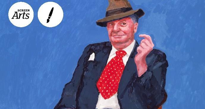 EOS: David Hockney (12A) poster