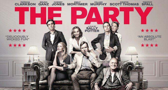 The Party (15) poster