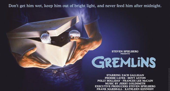 Gremlins (12A) poster