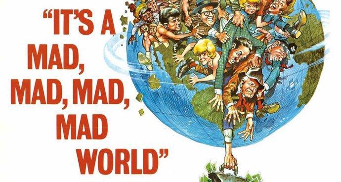 It's a Mad, Mad, Mad, Mad World (U) poster