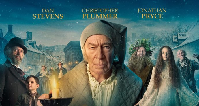 The Man Who Invented Christmas (PG) poster