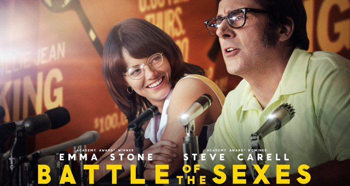 Battle of the Sexes (12A) poster