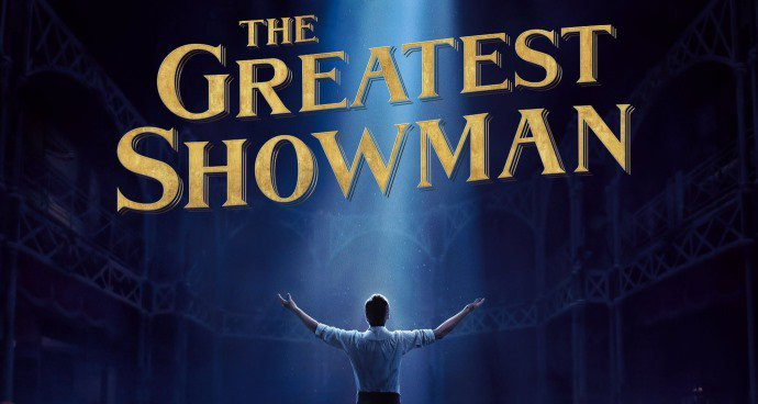 The Greatest Showman (PG) poster