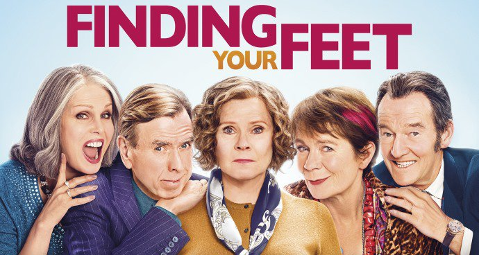 Finding Your Feet (12A) poster