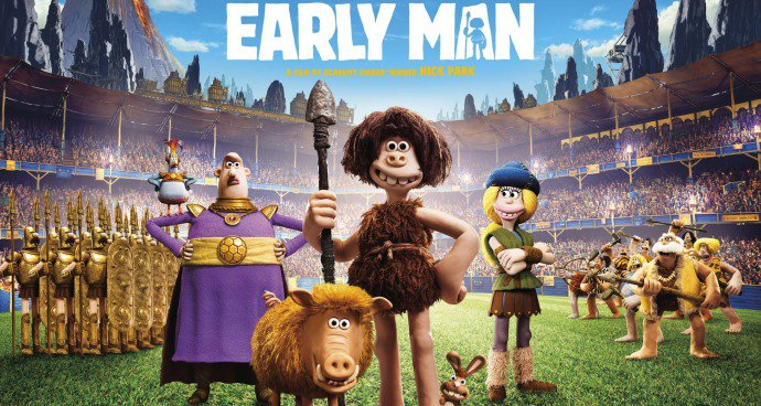 Early Man (PG) poster