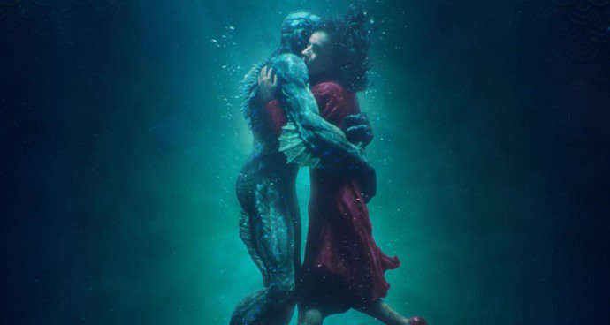 SS: The Shape of Water (15) poster