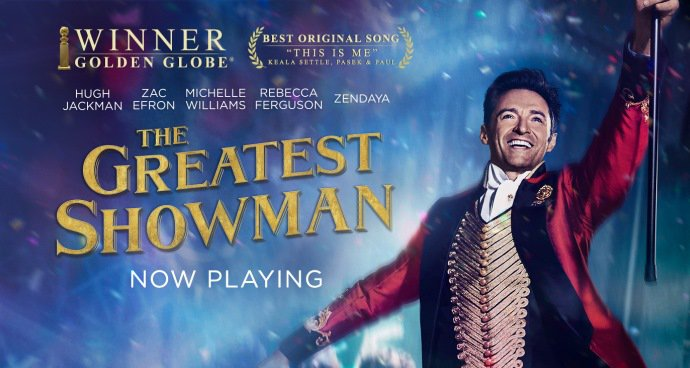The Greatest Showman: SING-A-LONG! (PG) poster