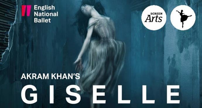 ENB: Akram Khan's Giselle (12A) poster
