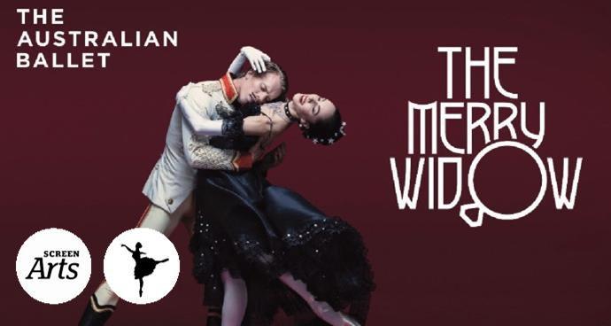 Australian Ballet: The Merry Widow (12A) poster