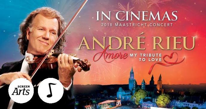 Andre Rieu 2018 Maastricht Concert (12A) poster