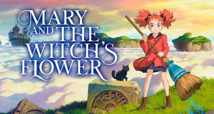 Mary and The Witch's Flower (PG) poster