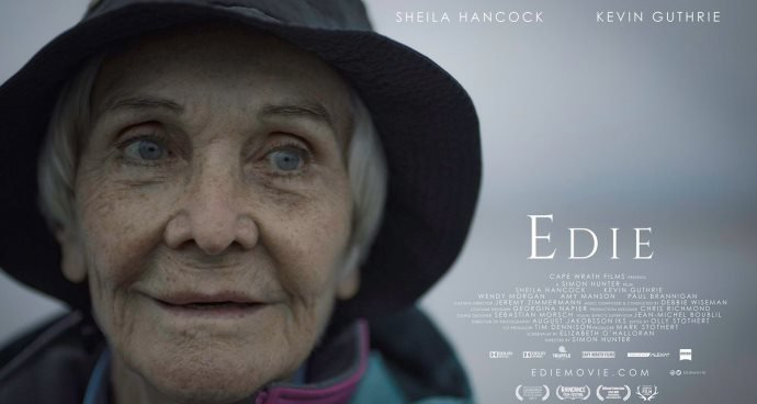 Edie (12A) poster