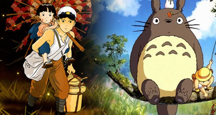 Grave of the Fireflies / My Neighbour Totoro Double Bill (12A) poster