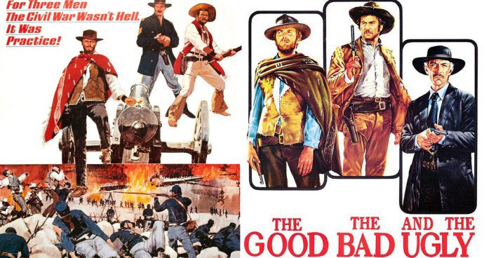 The Good, The Bad and The Ugly (15) poster