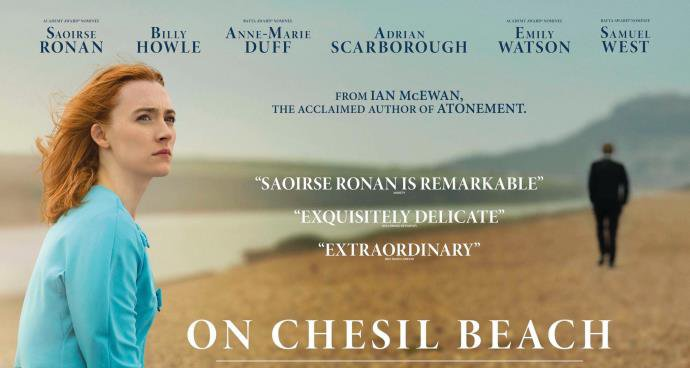 SS: On Chesil Beach (15) poster